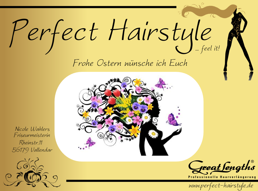 Perfect Hairstyle Perfect Hairstyle wünscht Frohe Ostern 0002 Perfect Hairstyle