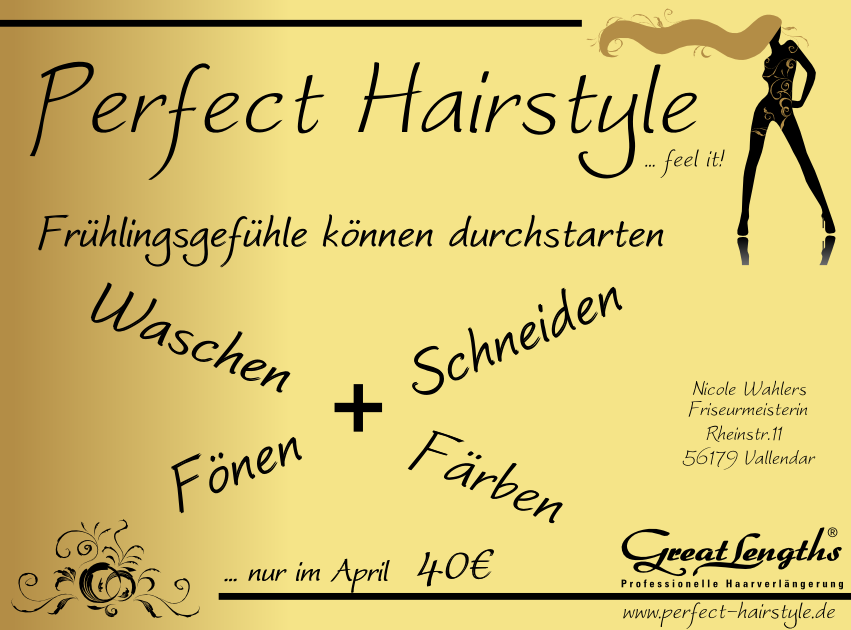 Frühlingsgefühle Frühlingsgefühle können durchstarten 0003 Perfect Hairstyle