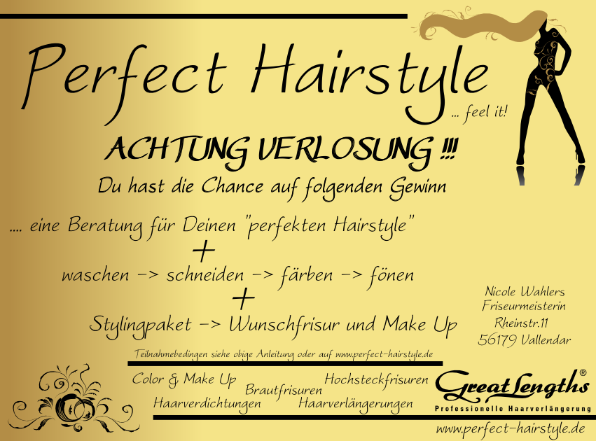 Facebook Achtung Verlosung bei Facebook… 0005 Perfect Hairstyle